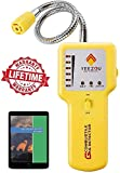 Y201 Propane and Natural Gas Leak Detector; Portable Gas...