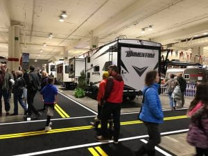 Seattle rv show floor