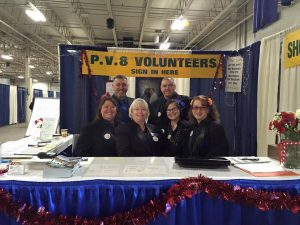 Springfield RV Show volunteers