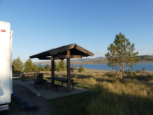 Strawberry Reservoir Camping Site