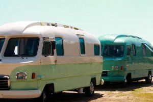 Two campervans Picture